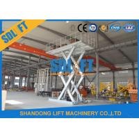 Quality 3T 6M Stationary Auto Basement Hydraulic Car Lift Car Parking Lift for sale