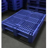Buy Single Faced Recycled Storage Heavy Duty Plastic Pallet For Warehouse at wholesale prices