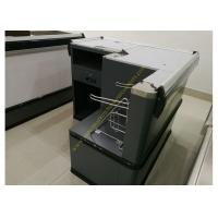 Buy Design Express Checkout Counter Desk Supermarket Money Counter Equipment Gray at wholesale prices
