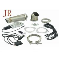 Quality 3 Inch Sliver Valve Controlled Exhaust SystemsExhaust Cutout Kit Easy Operation for sale