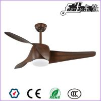 China East Fan 52 inch  Brown DC  Ceiling Fan with light item EF52131 on sale
