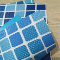 Quality hot sales various color and patterns PVC liner, PVC material waterproofing membrane, ASTM for sale
