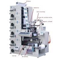 China RY480-5B Multicolor Thermal Sticker Printing Machine for rolls of label paper full automaticlly on sale