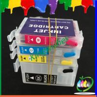 Quality T1881-T1884 refillable cartridge for Epson WF-7621 with 4 color chip for sale
