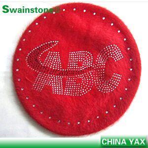 Quality jx826rhinestone shop red hat transfers rhinestone;hot selling rhinestone transfers red hat;red hat rhinestone transfers for sale