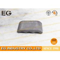 Quality Isostatically Carbon Graphite Plate Metallic Luster Polished Round 0.3% Ash Content for sale