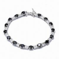Quality Fashionable Bracelet, Made of Sterling Silver, Customized Designs are Accepted for sale