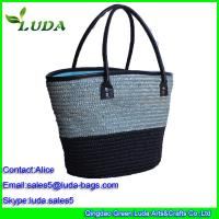 Quality buy handbags online curving matching straw tote bag for sale