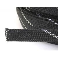 China PET Expandable Braided Sleeving With Insulation And Corrosion Resistant on sale
