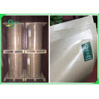 Quality 50g 60g 80g MG Brown Kraft Paper Coated With Food Grade Plastic 100cm In Rolls for sale