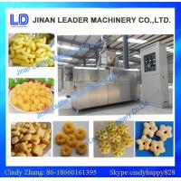 Quality Puffed snack food processing machine, Core filling snack