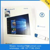Quality Genuine Korean Microsoft Windows 10 Home Fpp / Oem Software Download 64 Bit Usb License Activation for sale
