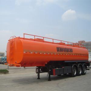 Quality TITAN Fuel tanker Trailer ,40m3/60m3 fuel tanker trailer ,carbon steel oil tank trailer for sale