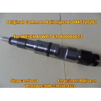Bosch Original Common Rail Fuel Injector 0445120261 for WEICHAI WP7 610800080073