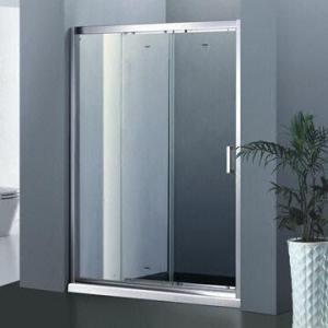 Quality Link sliding door shower/screen shower/door shower enclosure with aluminum frame for sale