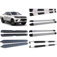 Quality Decoration Accessories Alloy And Steel Side Step Boards For 2015 Toyota Hilux Revo Pick Up for sale