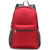 Buy Custom Stylish Economic  Outdoor Sports Backpack Red for Outdoor Travel at wholesale prices
