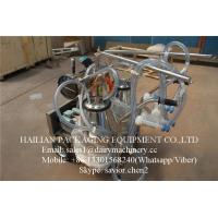 China Price Of a Milking Machine For Goat , Goat Milking Machine With 25 Liter Buckets on sale