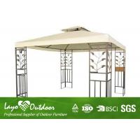 Quality Screened Outdoor Canopy Gazebo In Backyard Sunshade Awning Gazebo UV Resistant for sale