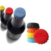 Quality Colored silicone beer bottle caps , home brewing bottles cover for Custom Silicone Products for sale