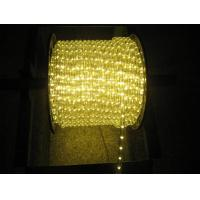 Quality warm white led rope light for Christmas decoration for sale