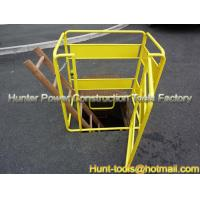 Quality Telstra Approved Yellow Manhole Barrier Guard Fence for sale