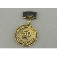 Buy Zinc Alloy Custom Awards Medals Die Costing Antique Gold Double Side 3D Military at wholesale prices
