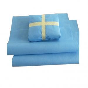 Quality SMMS Blue 60GSM Medline Sterilization Wrap for sale