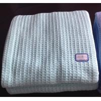 Quality 100% Cotton Waffle Thermal Blankets for sale