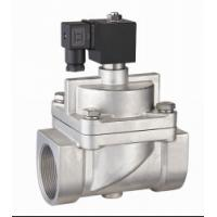 """Quality SS Piston NO High Pressure Air Valve , 20mm 3/4""""Solenoid Valve High Temperature for sale"""