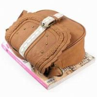 Quality Fashion Trendy Handmade Leather Sling Bag With T/C Lining Lady Bags for sale