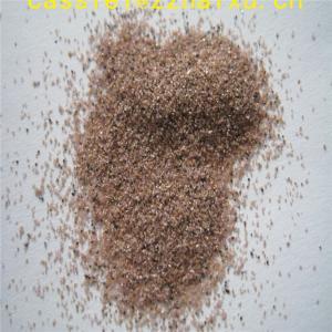 Quality garnet sand blasting abrasive for waterjet cutting almandine garnet for sale