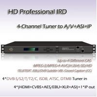 China RIH1304_IP 4-Channel HD Professional IRD DVB-T Receiver on sale