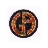 China Heat - Sealed Machine Embroidery Badges 3D Embroidered Crest Patches on sale