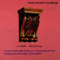 Quality Factory price decorative pu exotic corbels/ exterior corbels for sale