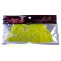 Quality Health Soft Plastic Bait Bags , Fishing Hook Packaging Foil Zipper Bags for sale