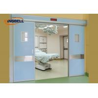 Quality Double Automatic Sliding Door Optional Knob Handing Medical Microcomputer Control System for sale