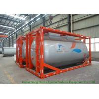 China International ISO Tank Container 20FT / 30FT For Methanol CH3OH Transport And Storage on sale