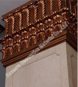 Quality Cheap polyurethane columns for front porch/ pu plane roman pillar for sale