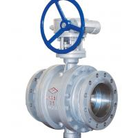 Quality API600 Fixed Cast Steel Ball Valve , 3 Piece Stainless Steel Ball Valve for sale