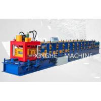 Quality Corrugated Iron Purlin Roll Forming Machine For Making Stadium Roof Sheet for sale