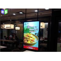 Buy cheap Ceilling Hanging Restaurant Light Box Signs 15 mm Thickness SGS Approved from wholesalers