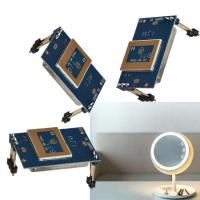 Quality 180-360 Degree LED Mirror Sensor 5.8GHz C Band Microwave Module Super Compact for sale
