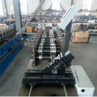 Quality Durable CZ Purlin Roll Forming Machine Dual Holes Punching 11 MAp Work Pressure for sale