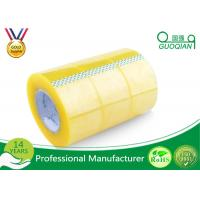 Pressure Sensitive BOPP Packing Tape Strong Adhesive Single Sided Clear Shipping Tape