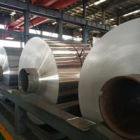 Quality Durable Industrial Aluminum Foil Rolls Fin - Stock For Radiator Condensers Evaporators for sale