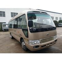 Quality Brand New Mudan 23 Seats Used Coaster Bus Manual Gear Diesel Engine With AC Right Hand Drive for sale