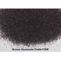 China Quick Cutting Force Brown Aluminum Oxide Finish F12 - F220 For Deburring on sale