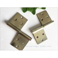 """Quality Bright Color 3"""" Brass Lift Off Hinges Zinc Plated Metal Material  1.0mm Thickness for sale"""