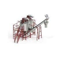 Quality 1000KG / H Capacity PET Recycling Line With Hot Washing Tanks Automatic Operate for sale